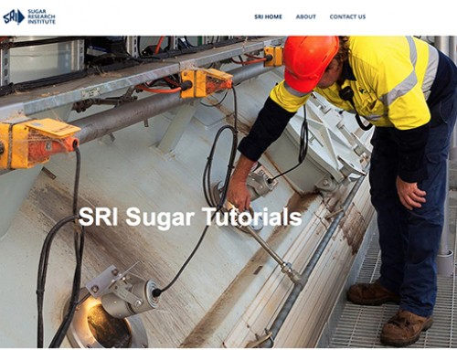 New SRI Sugar Tutorials website for mill training